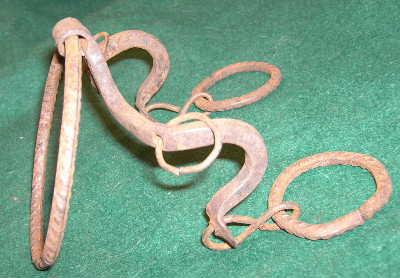 Handmade African horse bit