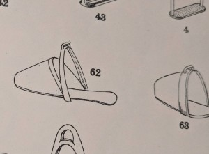 Slipper stirrup in catalogue