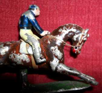 antique lead racehorse