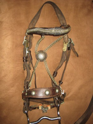 German military bridle