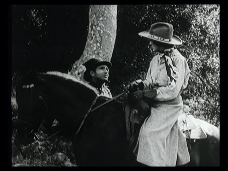 Still from Borzage western film