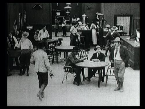 Saloon scene from Borzage's film