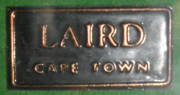 Saddle label from Laird