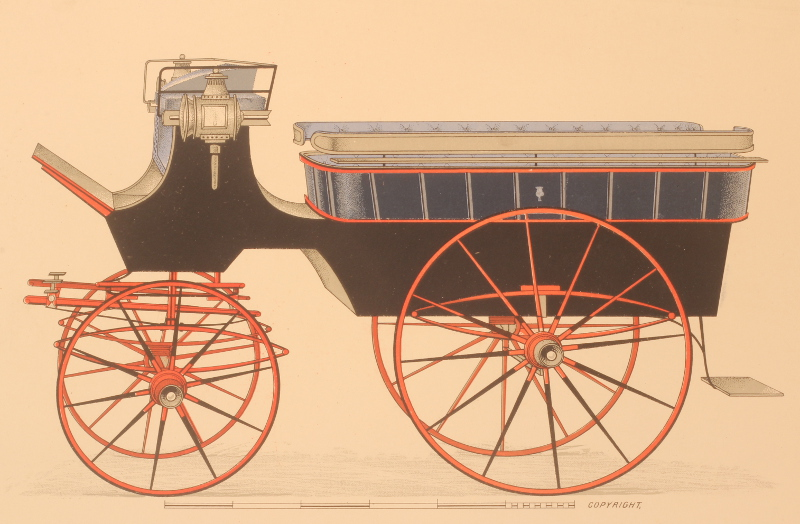 Antique carriage driving and coaching equipment
