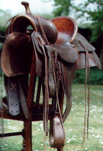 Vintage Western Saddle By Riley Calgary