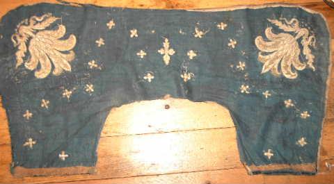 Early Velvet Saddle Cloth Caparison