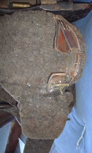 Damage to saddle