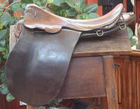 Officer's saddle by Whippy & Stegall