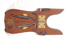 Link to antique mahogany boot jack for sale