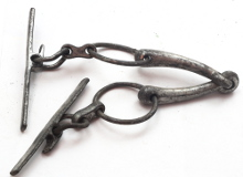 link to vintage military horse bit for sale